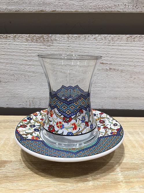 チャイグラス(陶器皿)/ No.6