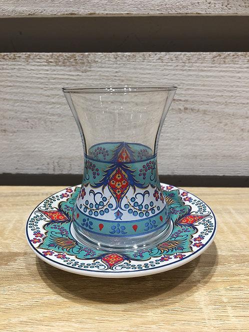チャイグラス(陶器皿)/ No.2