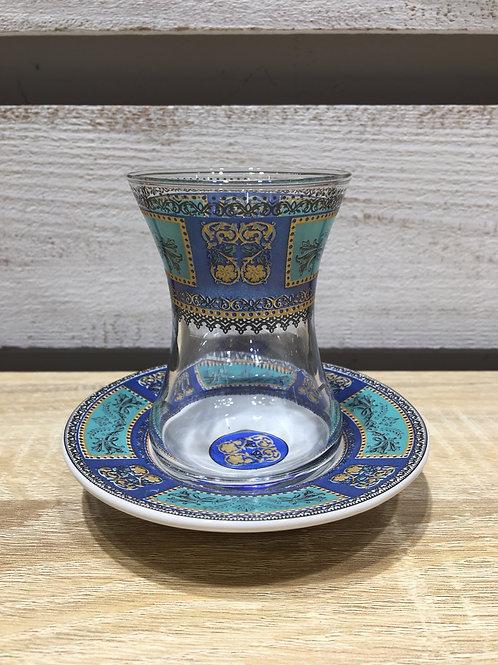 チャイグラス(陶器皿)/ No.3