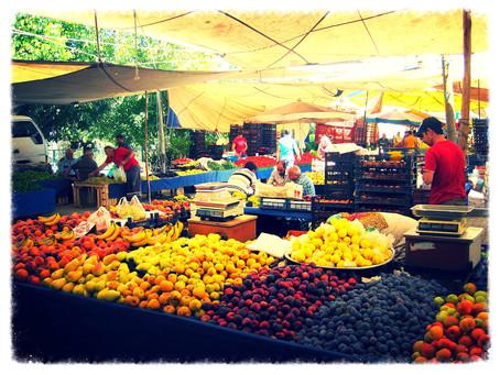 トルコの青空市場