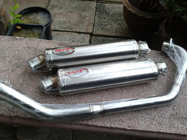 NJT Full Racing Exhaust CBR 125/150