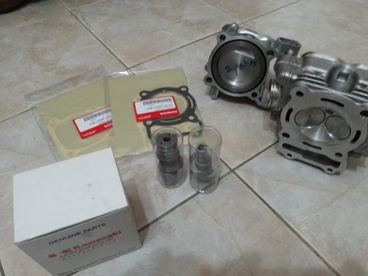 CBR125 Boreup Set 150ccm