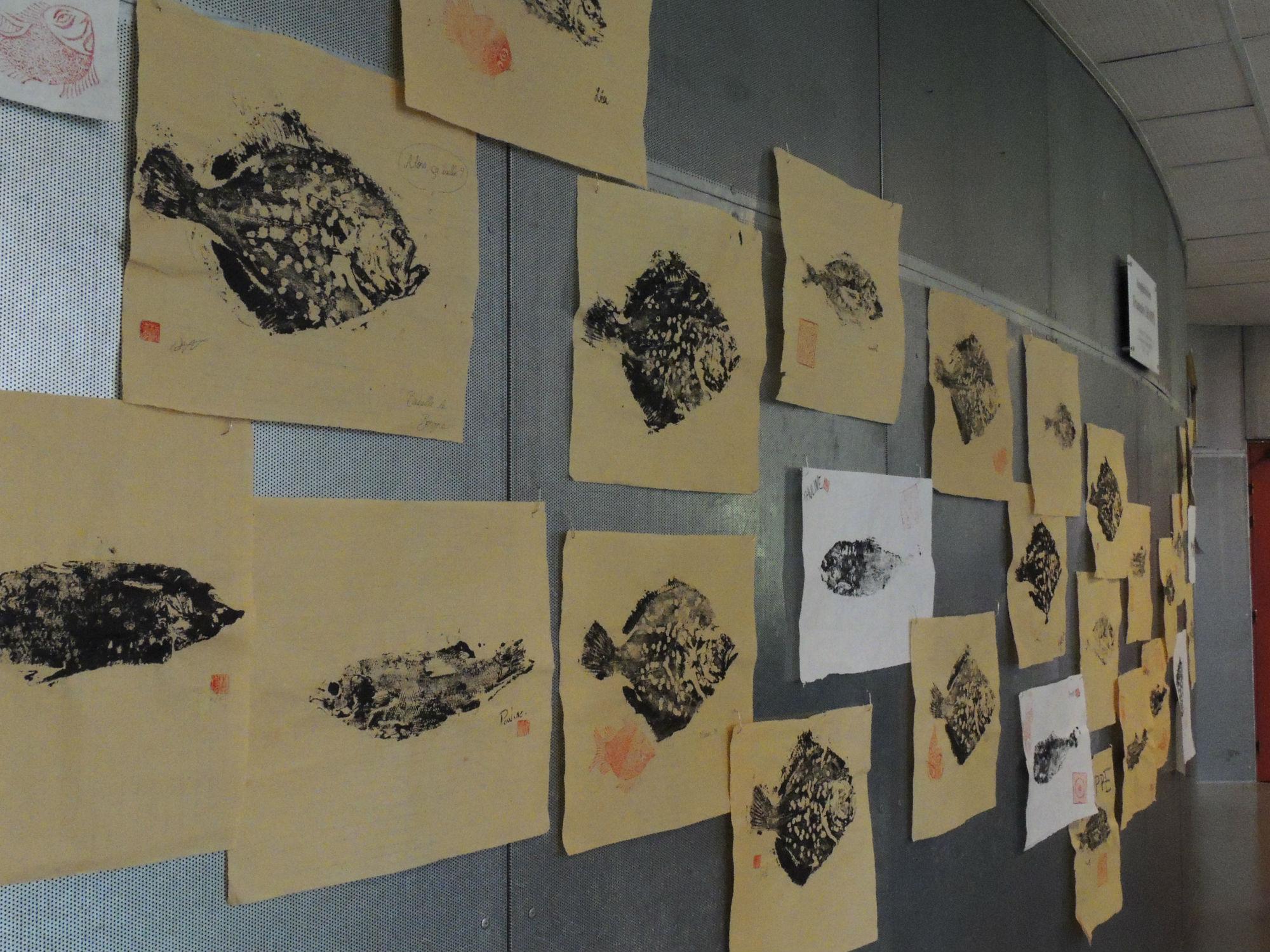 vernissage exposition Gyotaku 9