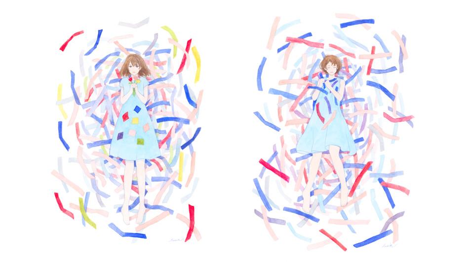 シュレッダーの花束