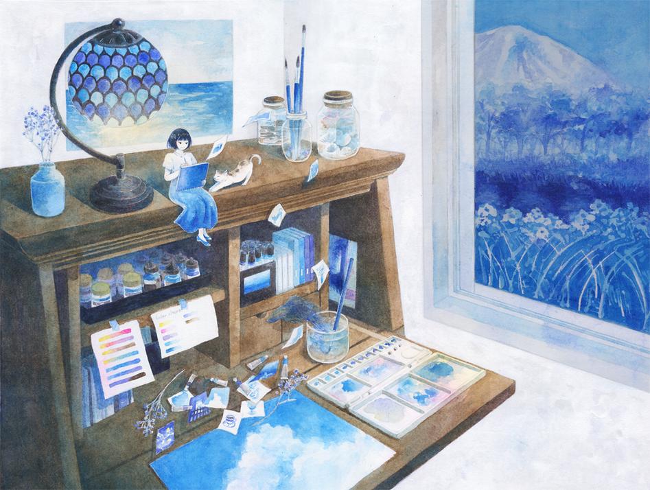 青のアトリエ