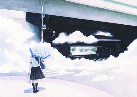 雲の通行路