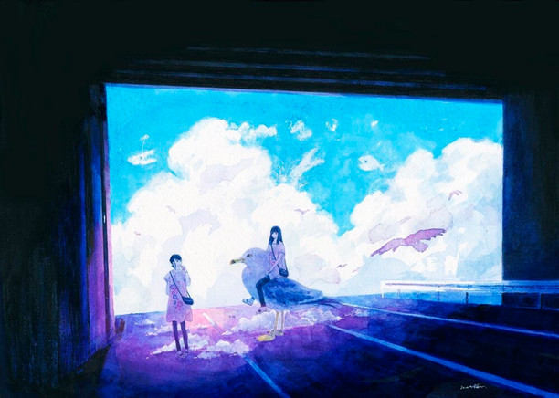 空旅と雲魚と
