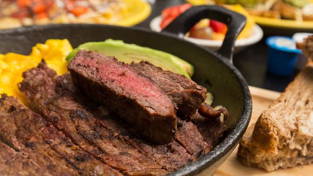 Carne Asada Skillet Breakfast