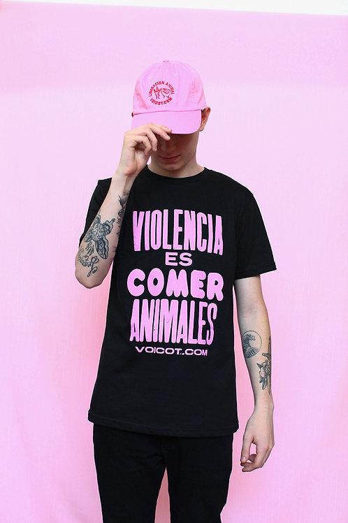 Remera negra - Violencia