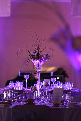 Package vase martini & fleurs