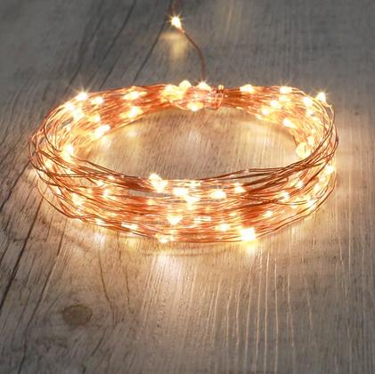 Guirlande lumineuse LED pour déco lanternes ou arbres