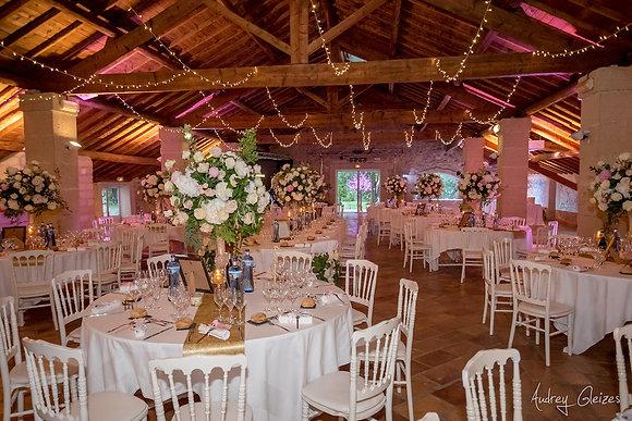 Guirlande lumineuse LED 50m pour décor plafond