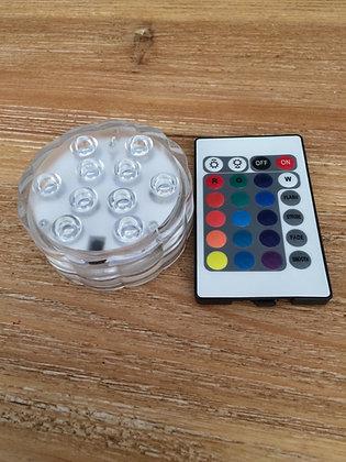 Base LED télécommandée 16 couleurs