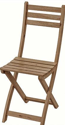 Chaise en bois champêtre