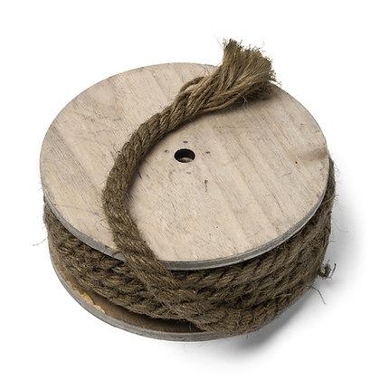 Rouleau de corde vintage déco rustique