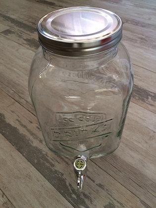 Bonbonnière vintage avec robinet