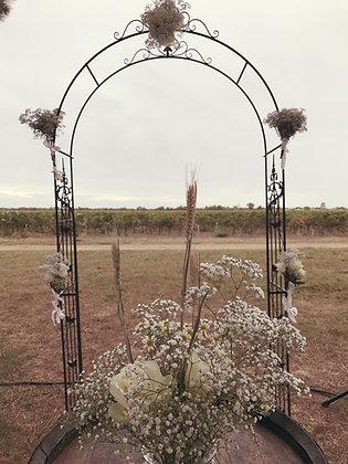 Arche en fer forgé cérémonie laïque