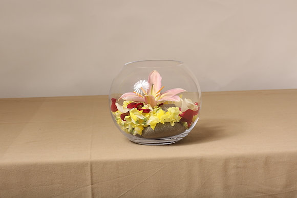 Vase boule aquarium 25cm - 17cm - 12cm