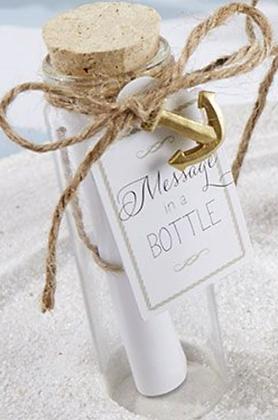 Message bouteille à la mer
