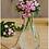 Thumbnail: Vase goutte à suspendre