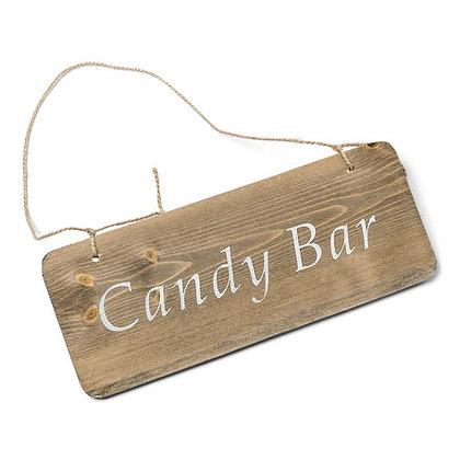 Panneau en bois candy bar