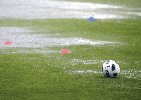 Heavy rains bring cancellations to many games