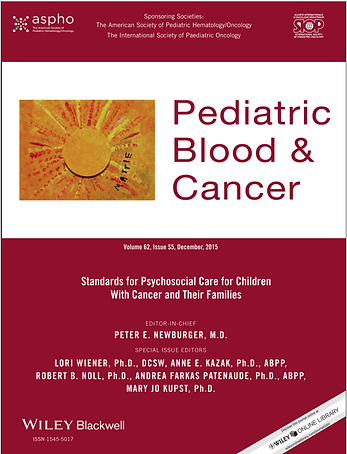 Read the Psychosocial Standards of Care for Children with Cancer