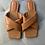 Thumbnail: Cris Cross Slide On Sandals