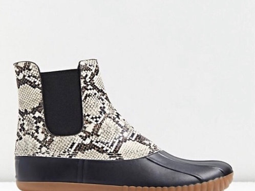 Urban Outfitters Snakeskin Duck Boot