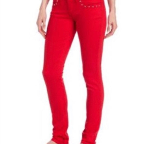 Levi 524 Red Too Superlow Jean