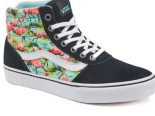 Vans Milton Women's High Top Flamingo Sneaker