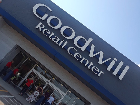 """My First Experience at the Goodwill Outlets Aka """"The Bins"""""""