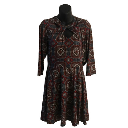 Bebop Paisley Dress