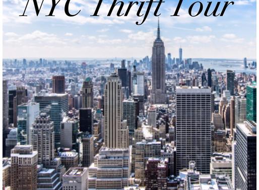 NYC Thrift Tour