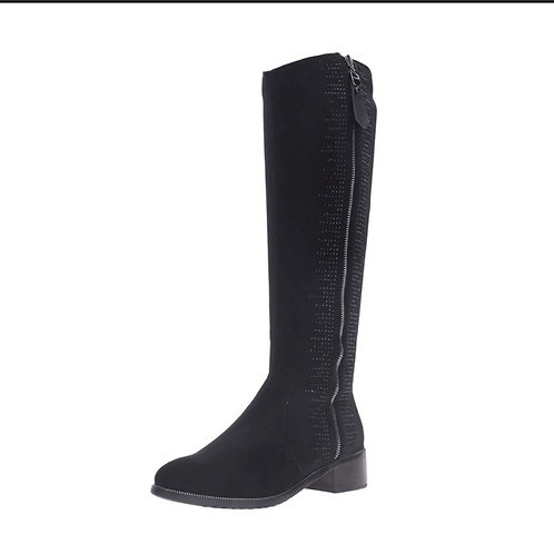 Azura Blackenbury Black Riding Boot