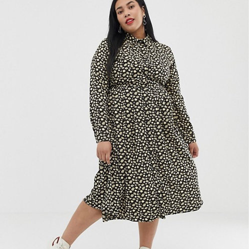 ASOS  Curve Shirtdress Midi Dress