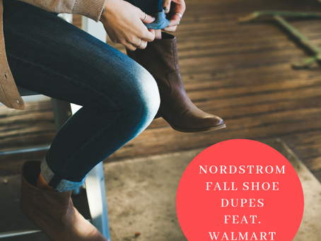 nordstorm Fall shoe dupes