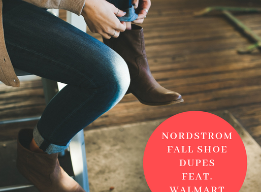 nordstorm Fall shoe dupes