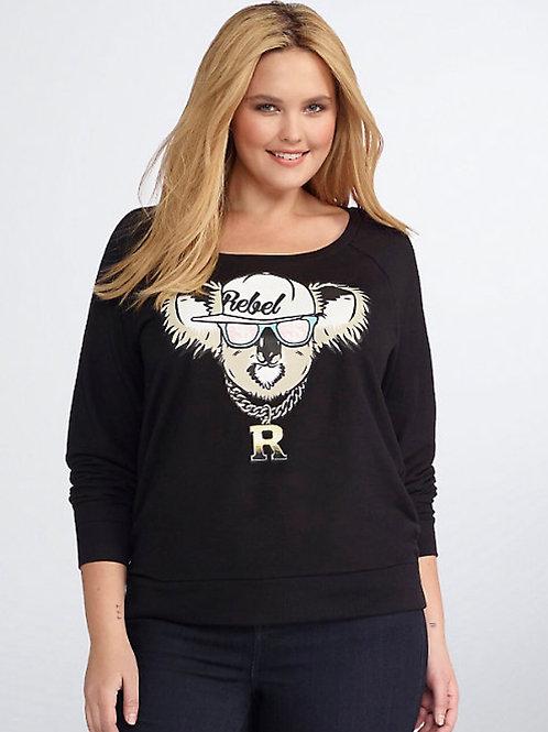 Torrid Koala Black Sweatshirt