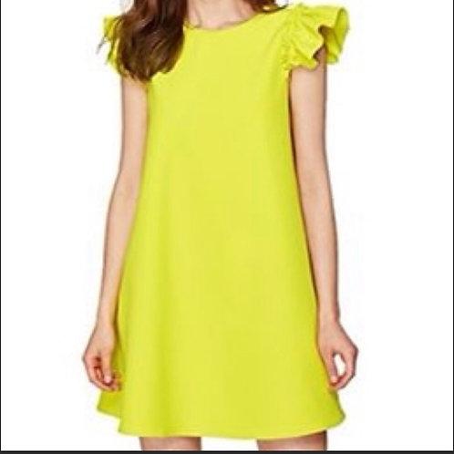 Who What Wear Neon Mini Dress