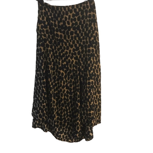 Who What Wear Leopard Skirt