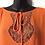 Thumbnail: Eloquii Orange Lace Accent Top