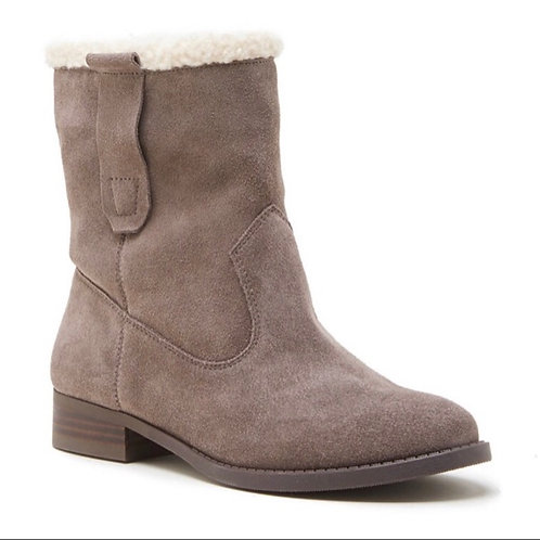 Sole Society Verona Leather Tan Bootie