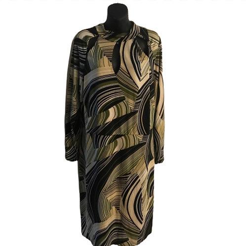 Ashley Stewart Top Slit Dress