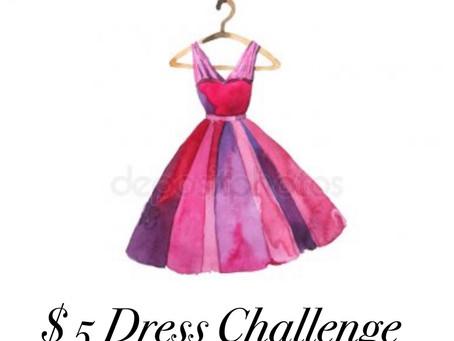 $5 Dress Challenge