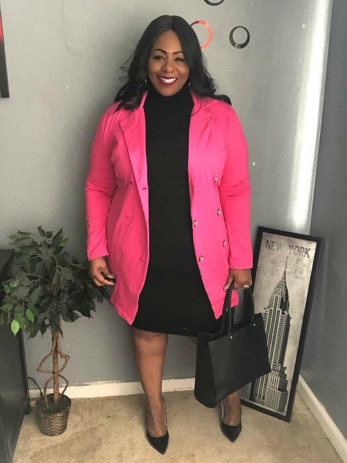 Fashion Nova Pink Blazer
