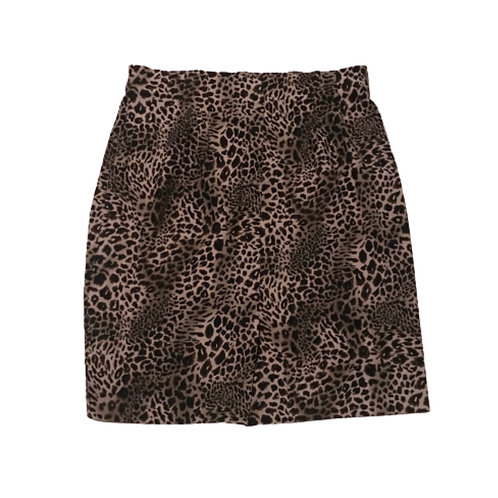 Avenue Animal Print Skirt