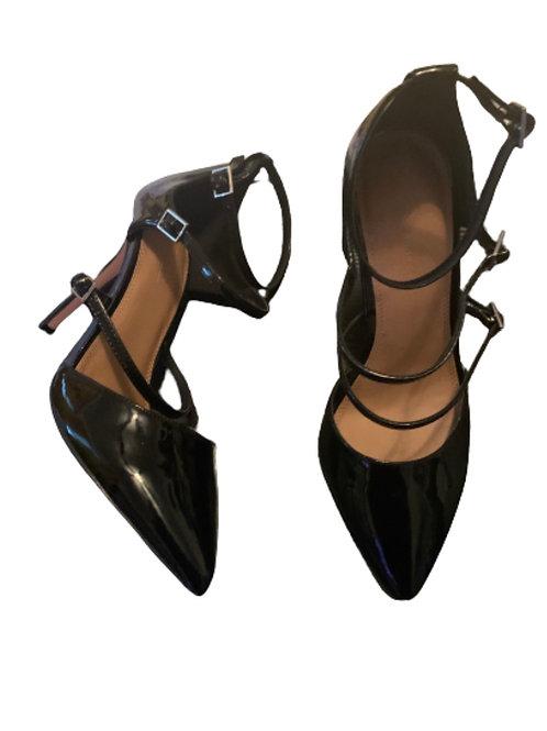 ASOS Strappy Patent Leather Heel