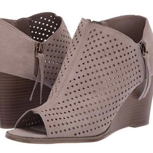 Anne Klien Reesey Ankle Gray Bootie
