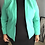 Thumbnail: Mint Green Cropped Blazer